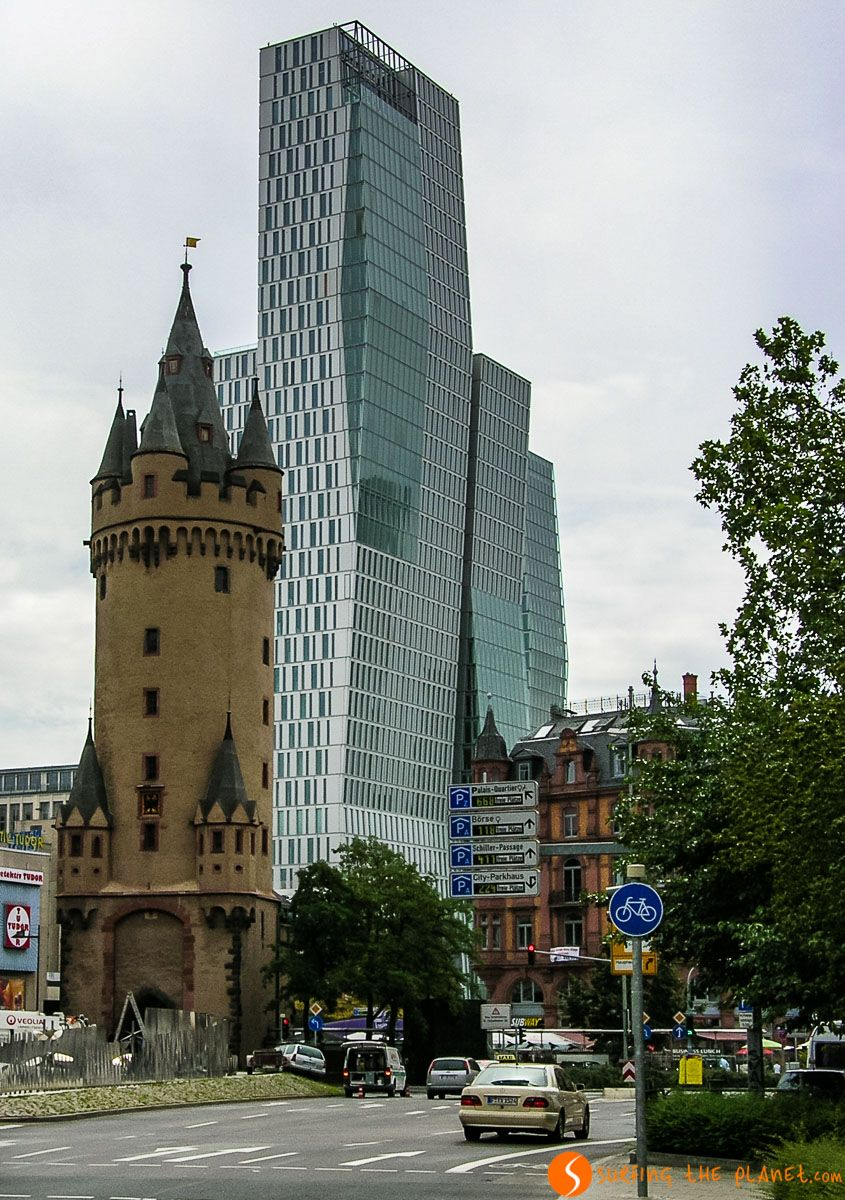 Torre Eschenheim, Frankfurt, Alemania | Qué ver en Frankfurt en 1 día