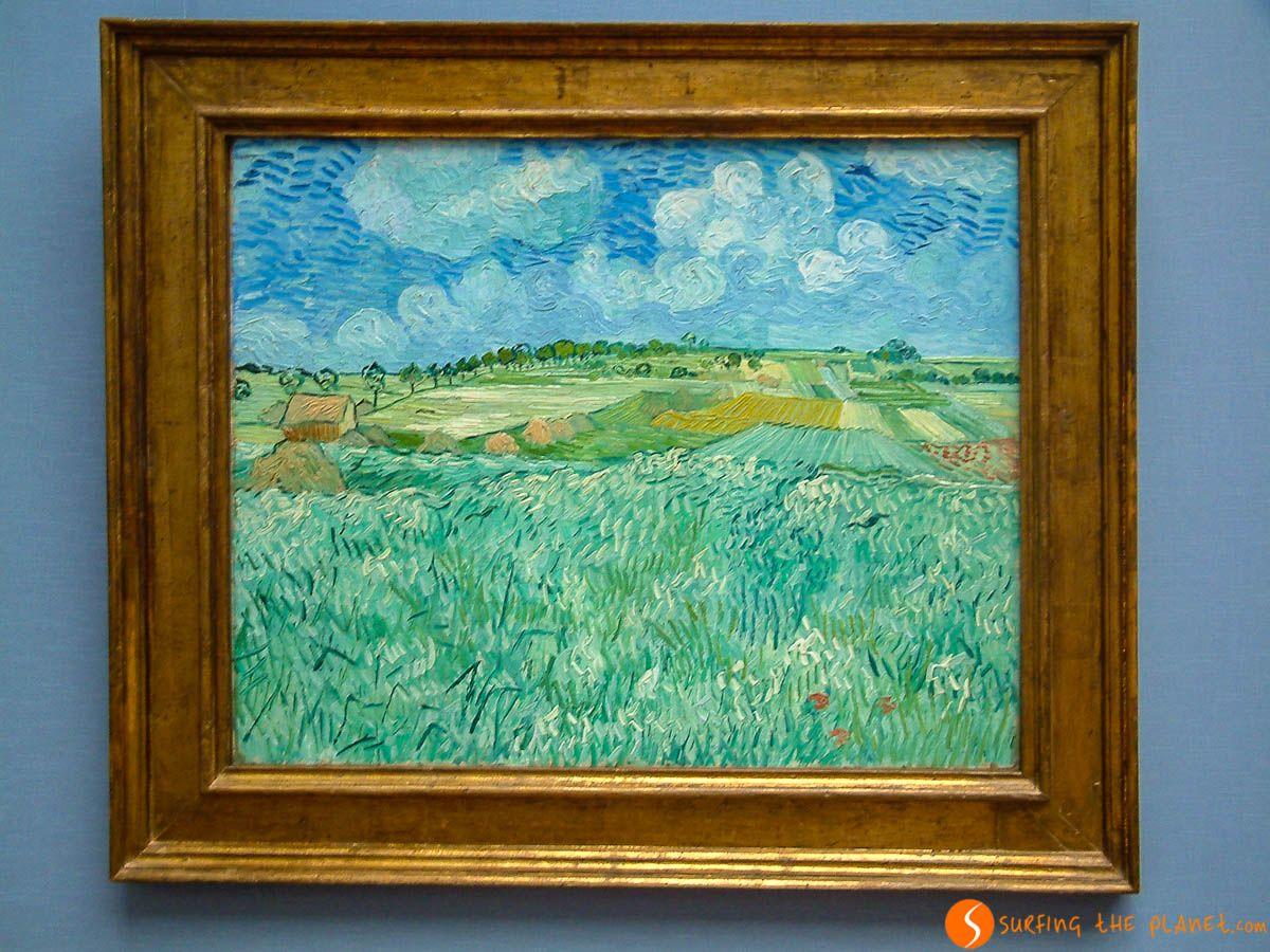 Obra de Van Gogh, Pinacoteca, Múnich, Alemania | Qué hacer en Múnich en 3 días
