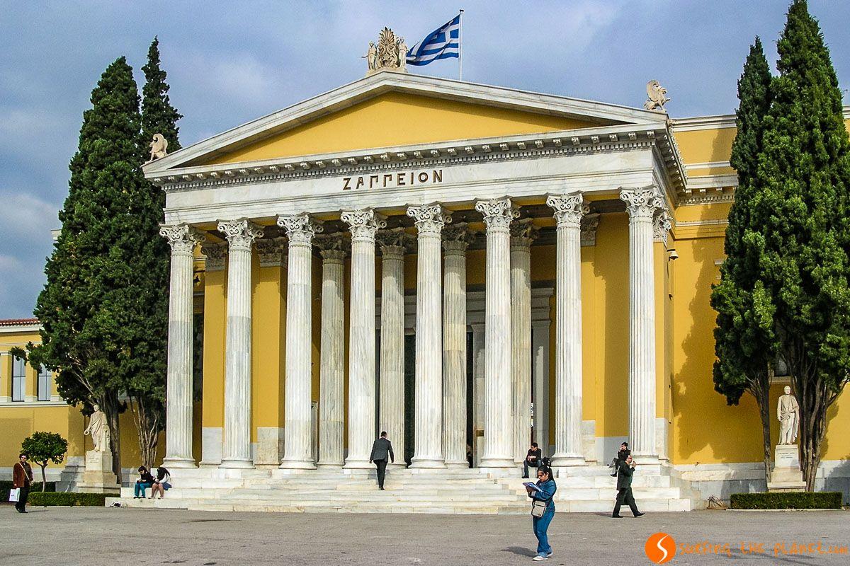 Zappeión, Jardín Nacional, Atenas, Grecia