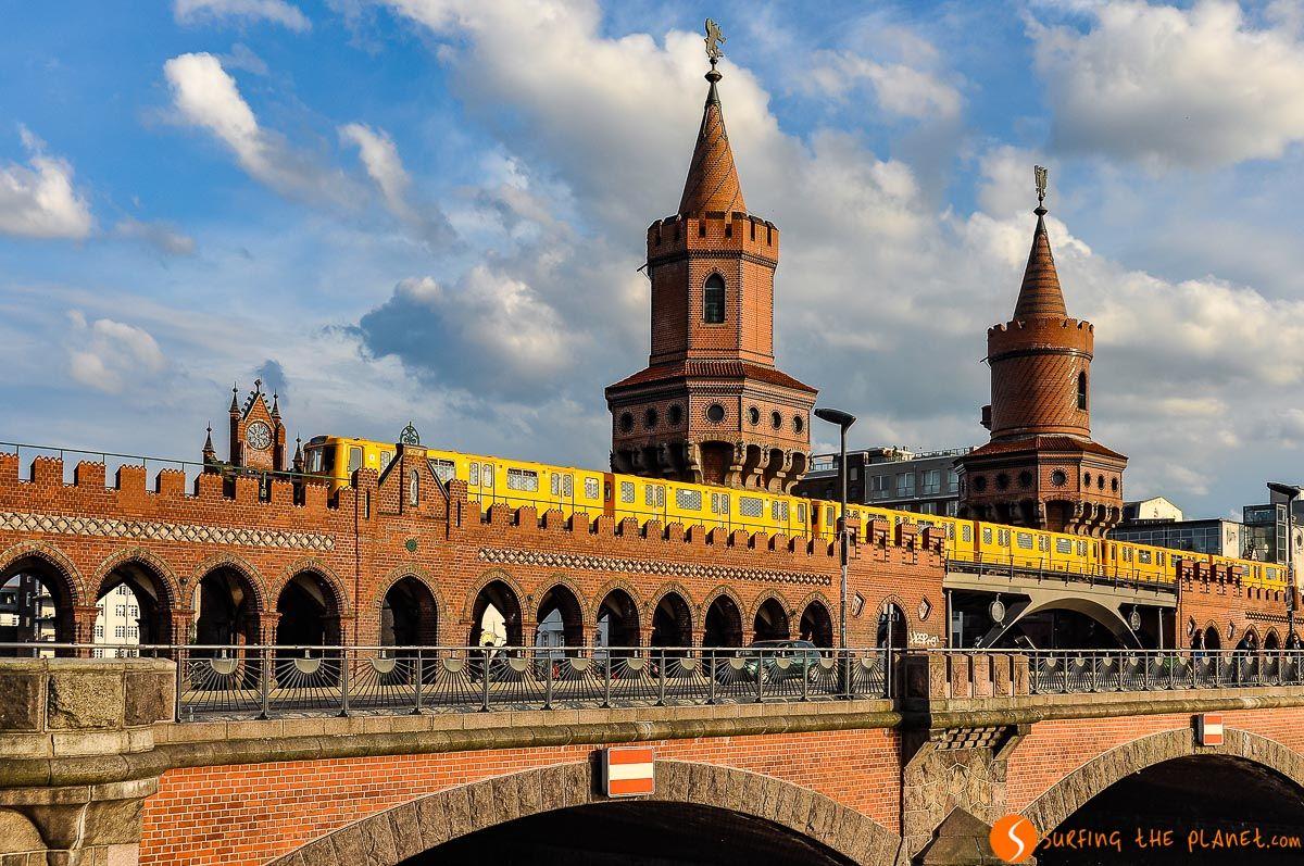 Puente Oberbaum, Berlín, Alemania |Qué ver y hacer en Berlín en 4 días