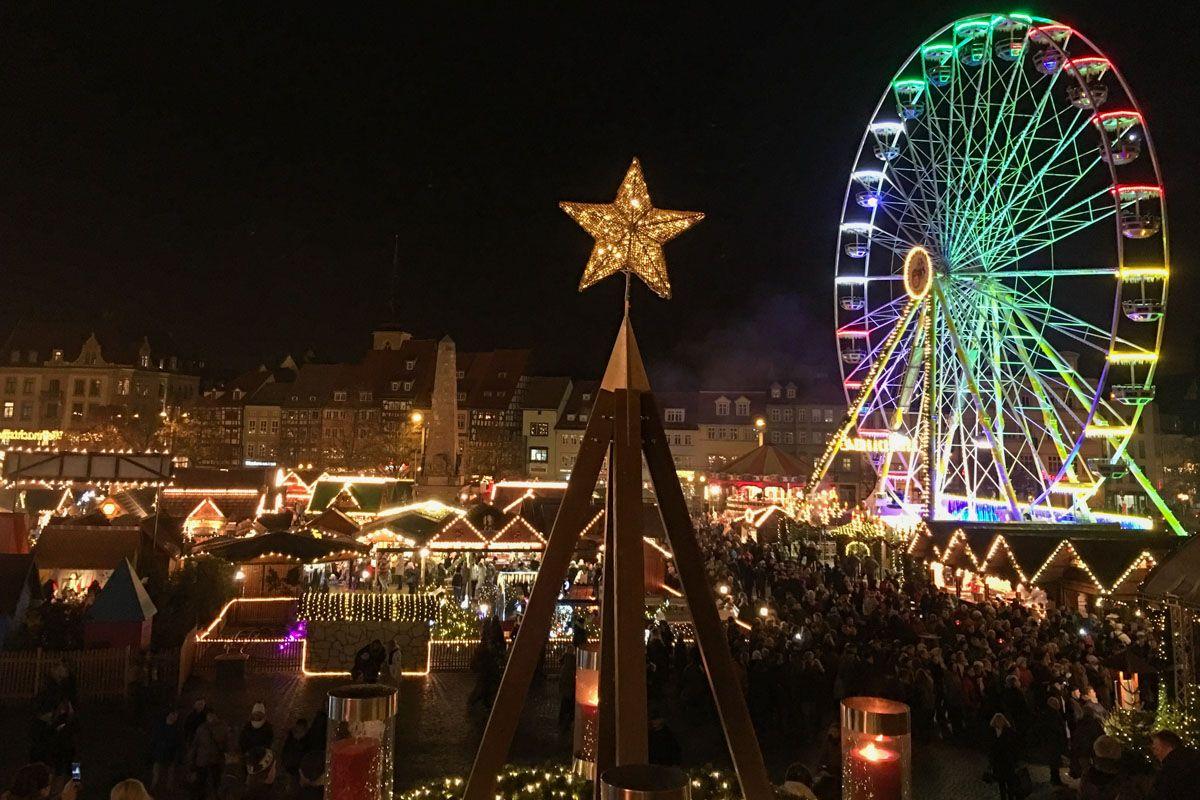 Mercado de Navidad, Erfurt, Alemania
