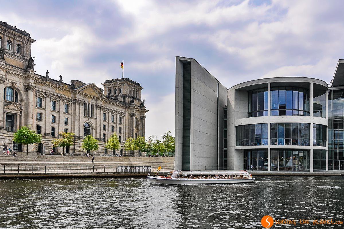 Crucero en Río Spree, Berlín, Alemania | Qué visitar en Berlín en 4 días