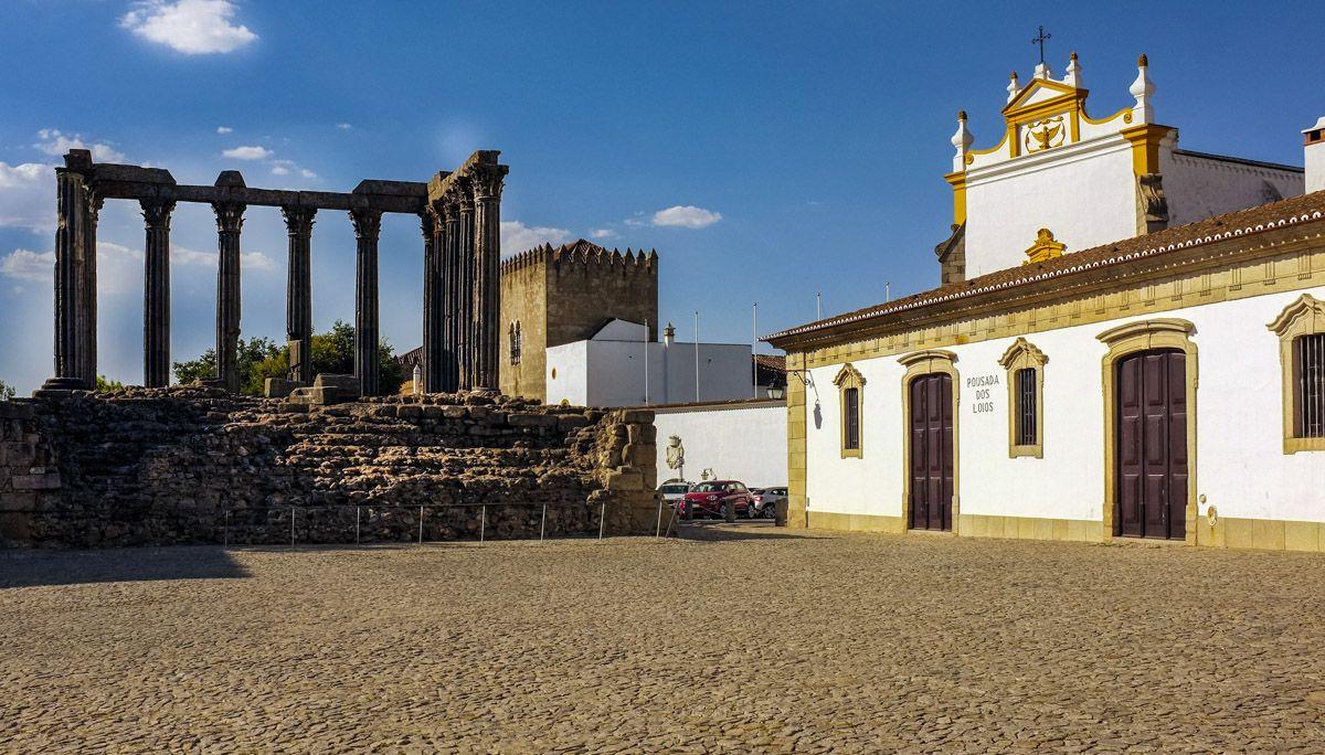 Templo Romano, Évora, Portugal |Excursiones desde Lisboa