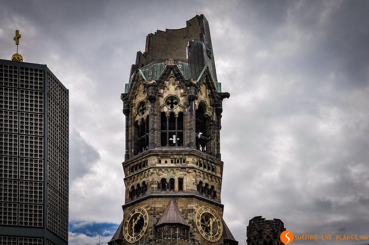 Iglesia Memorial Kaiser Wilhelm, Berlín, Alemania | Qué visitar en Berlín en 3 ó 4 días