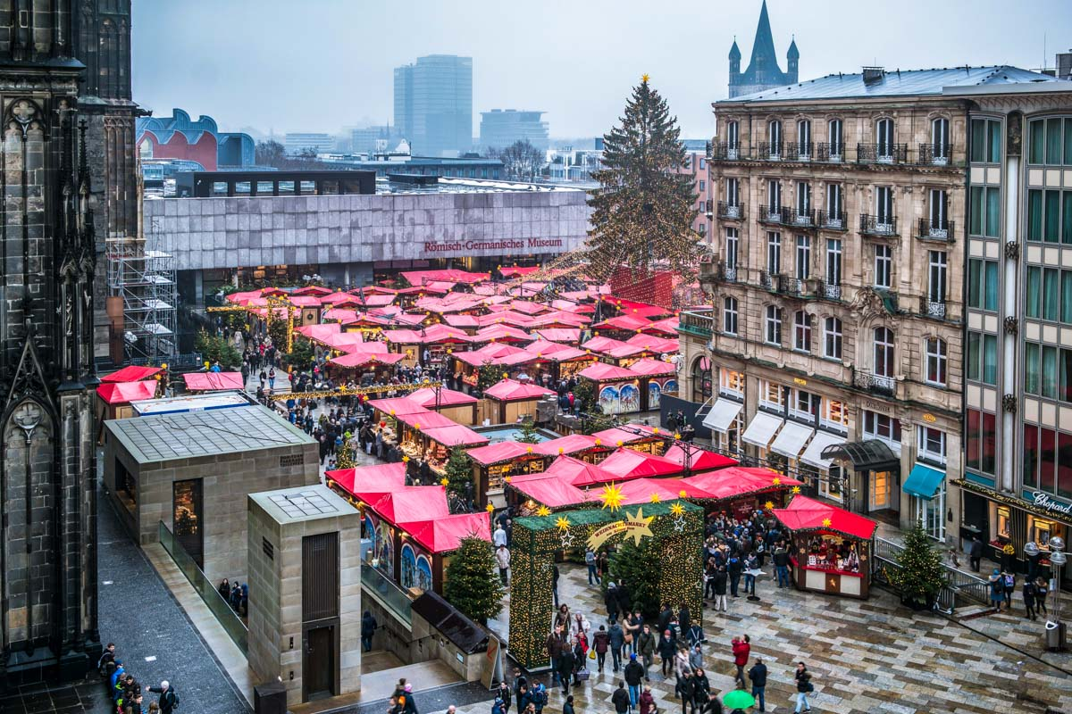 Ambiente navideño, Colonia, Alemania