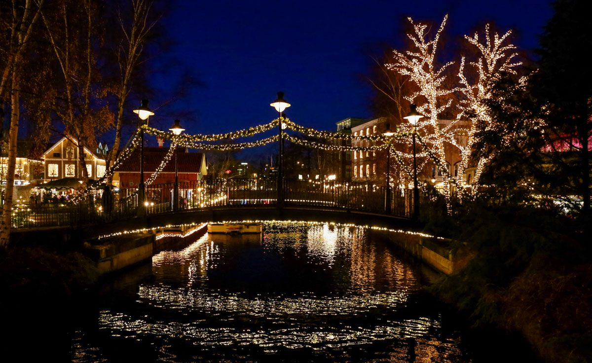 Mercadillo navideño, Gotemburgo, Suecia