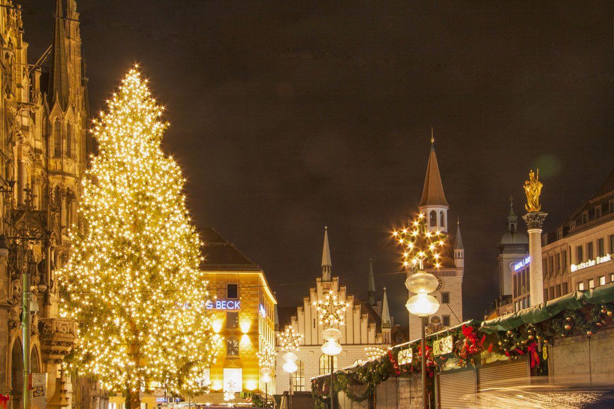 Mercadillo navideño, Múnich, Alemania