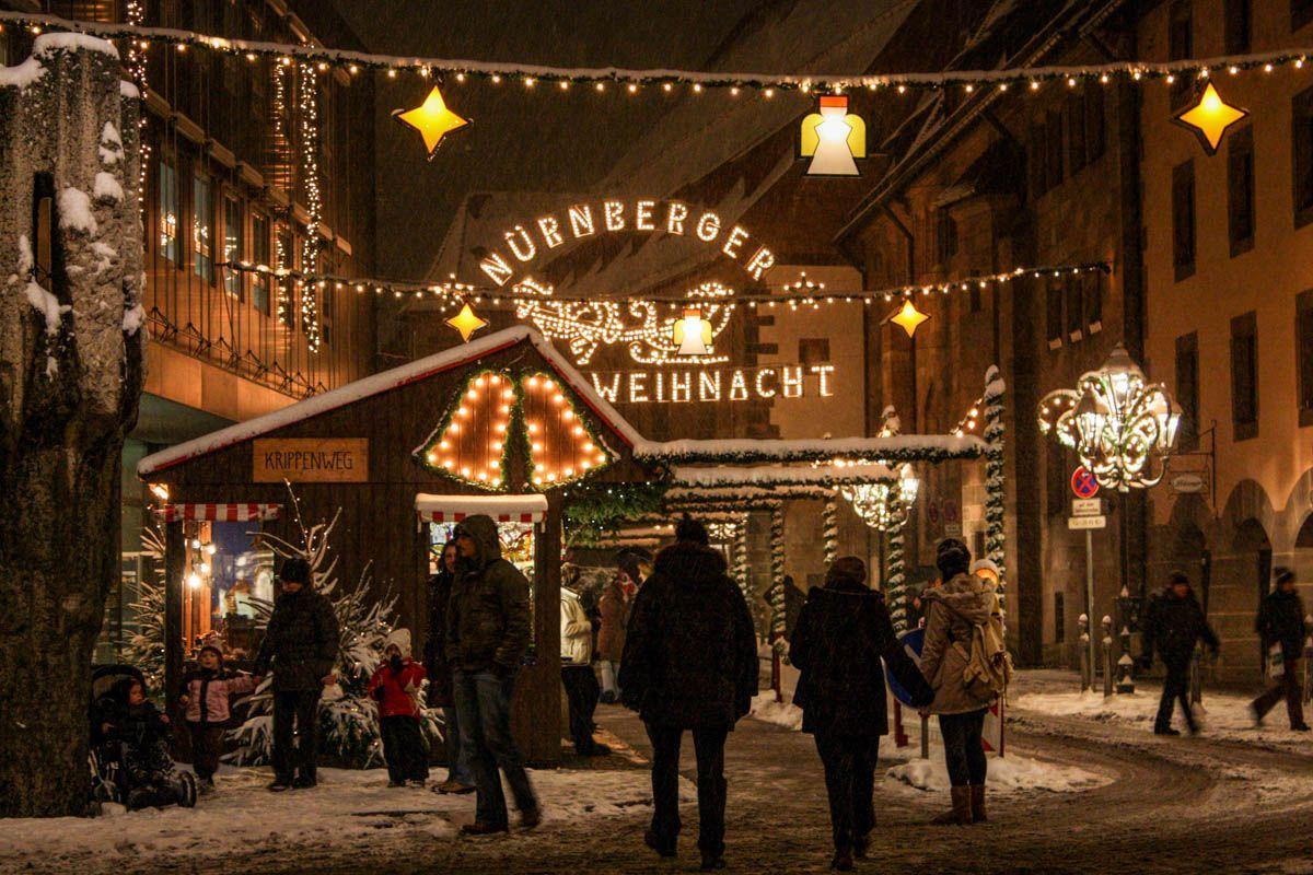 Mercadillo navideño, Núremberg, Alemania