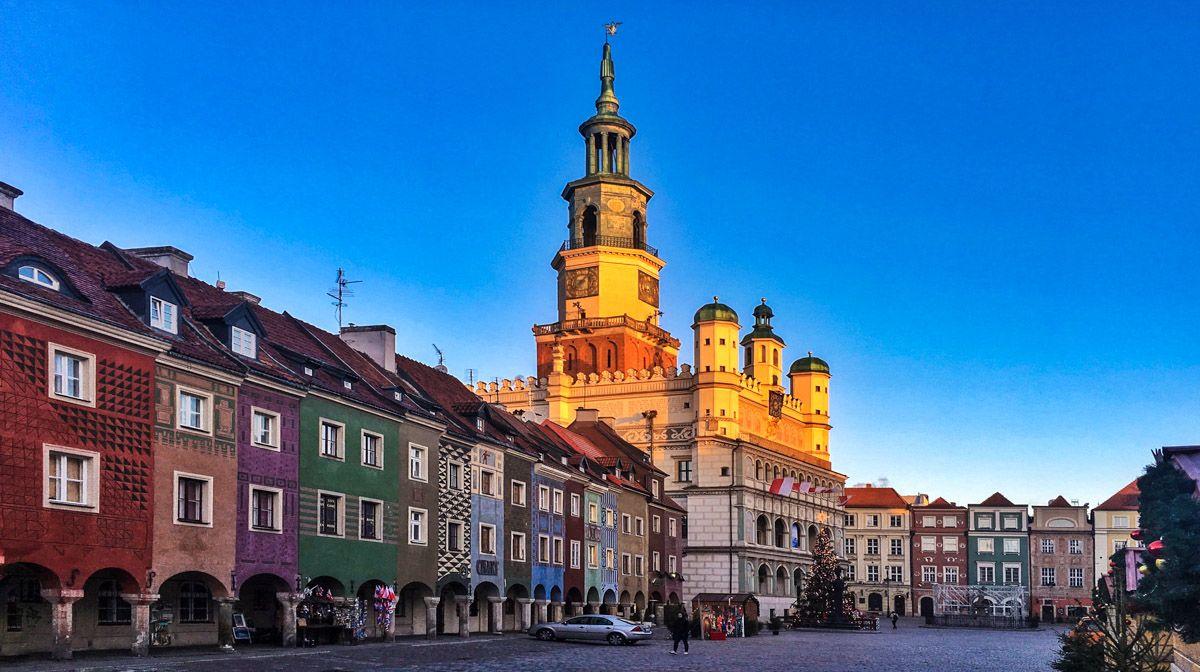 Mercadillo navideño, Poznan, Polonia