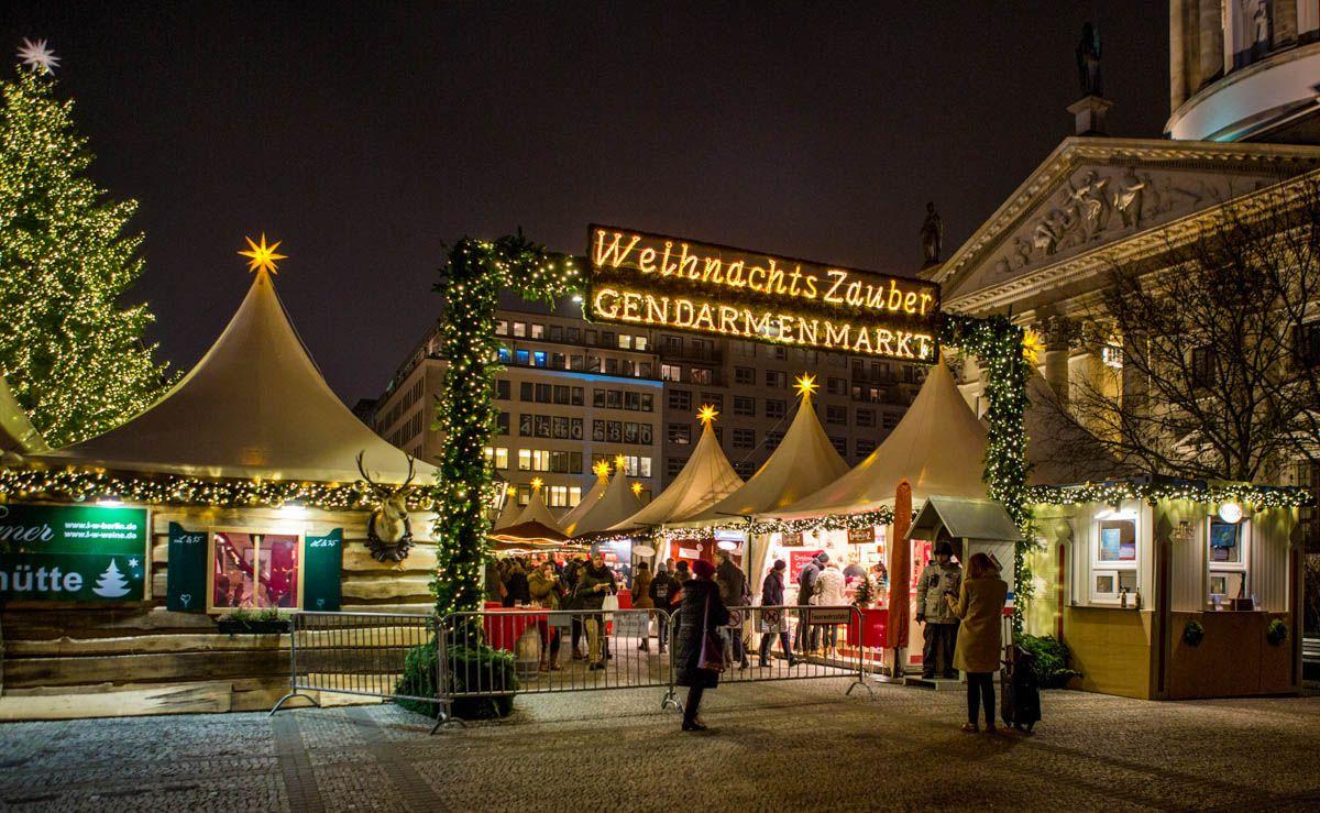 Mercado de Navidad, Berlín, Alemania