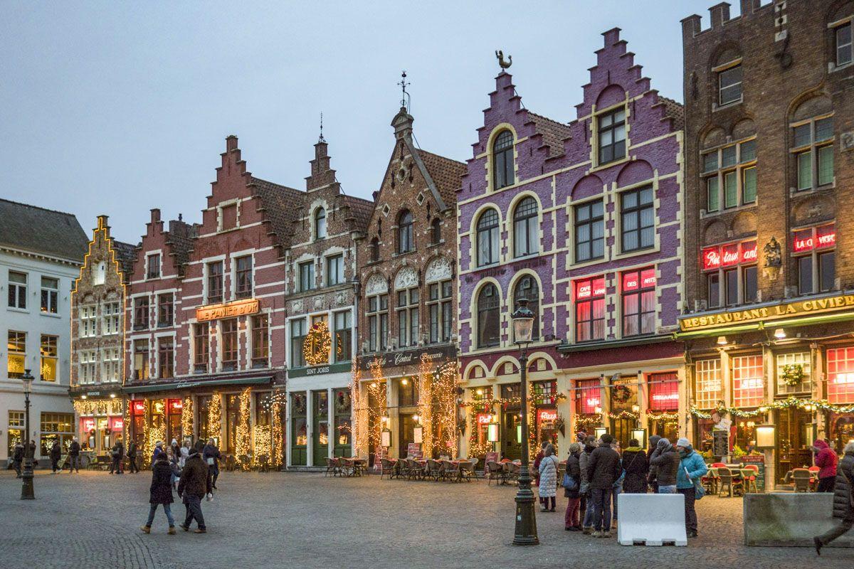Mercado de Navidad, Brujas, Bélgica