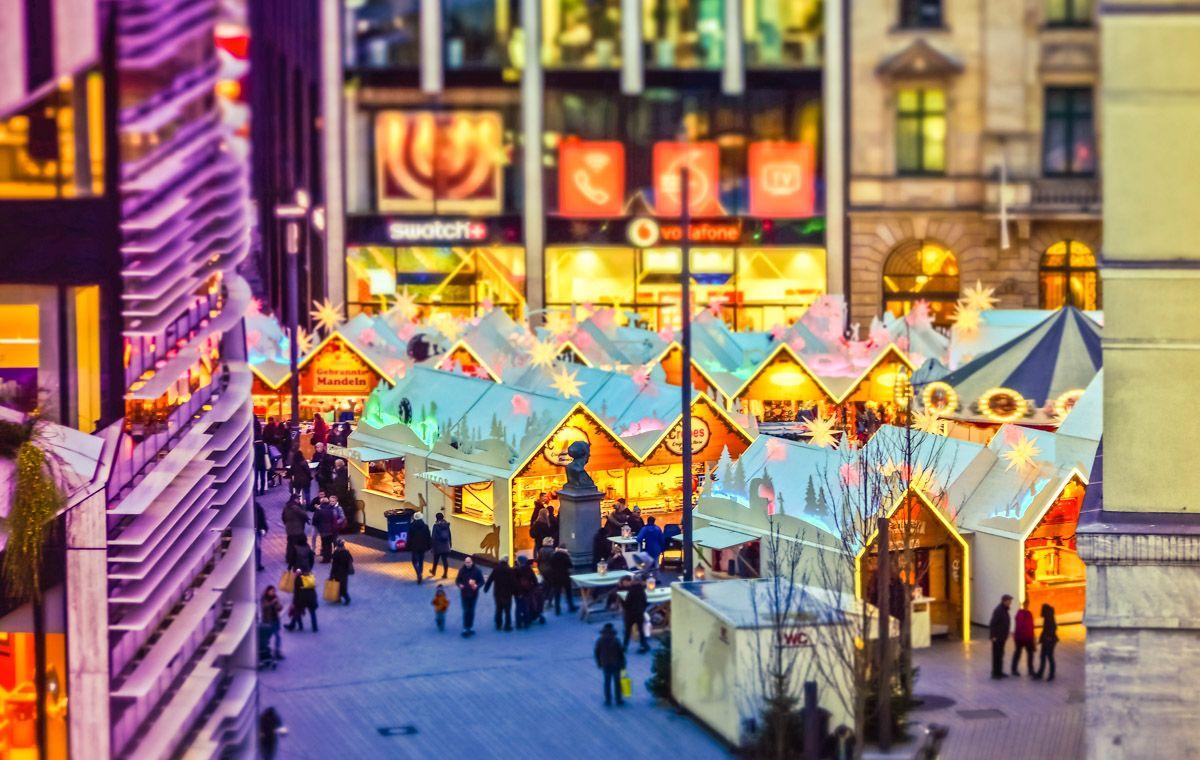 Mercado de Navidad, Brusellas, Bélgica