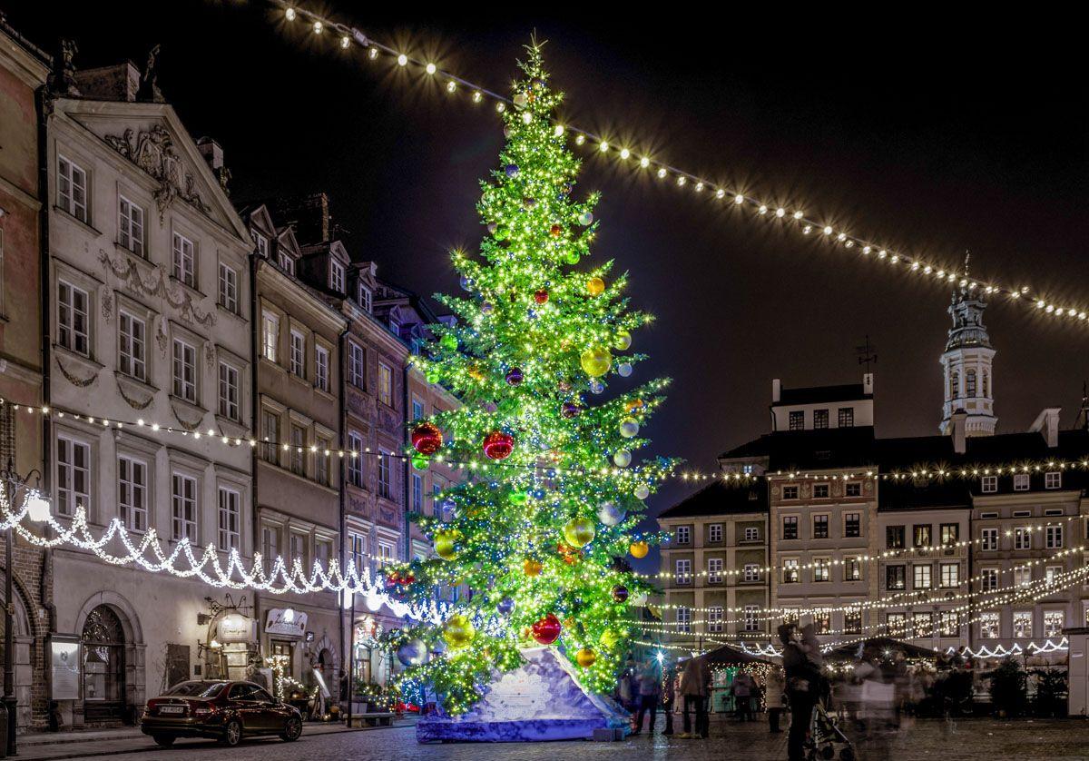 Mercado de Navidad, Varsovia, Polonia