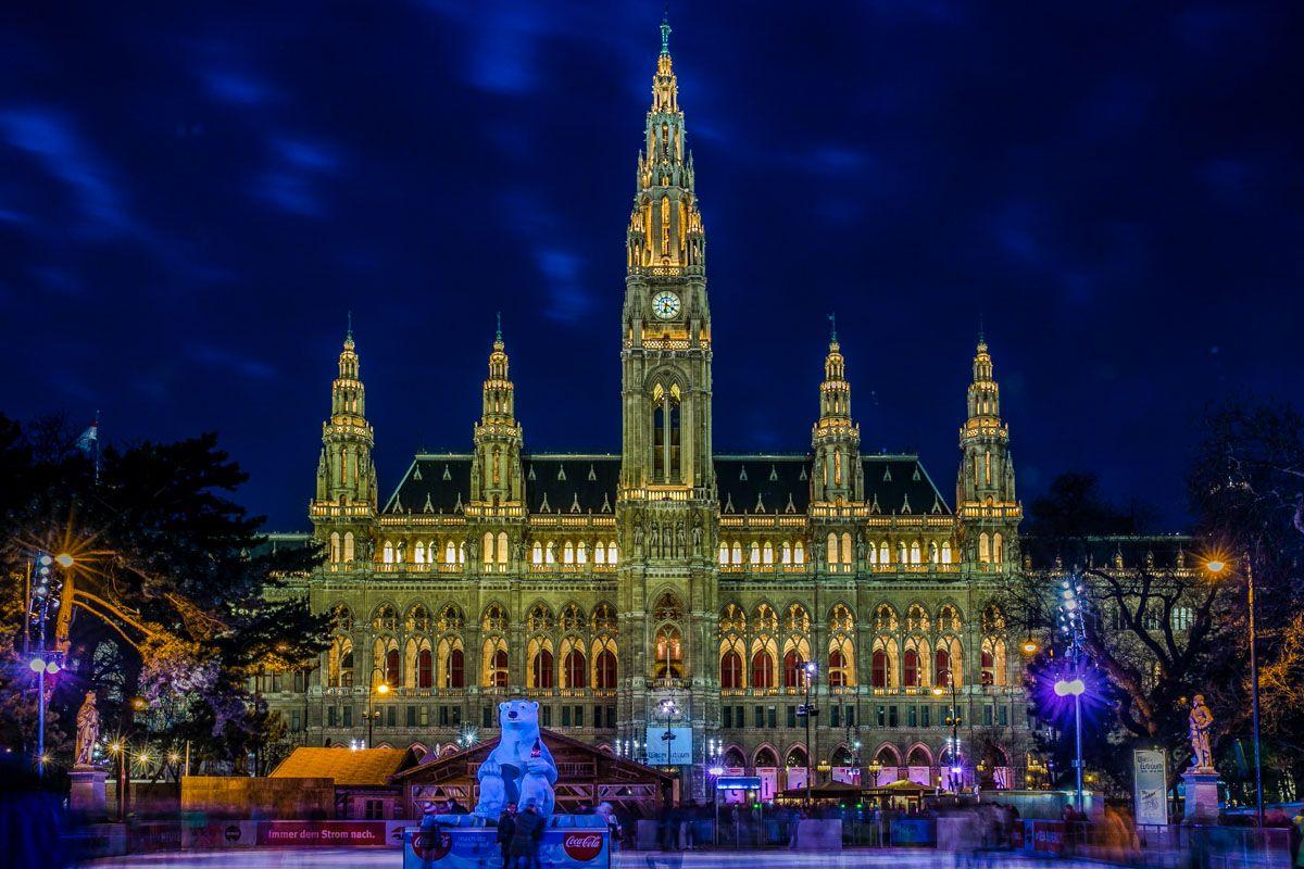 Mercado de Navidad, Viena, Austria