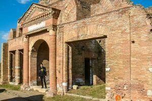 Ostia Antica cerca de Roma, Italia