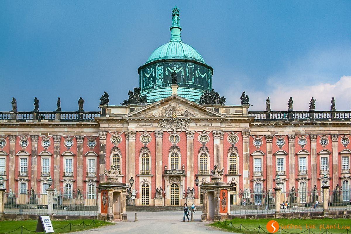 Palacio Nuevo en Potsdam cerca de Berlín, Alemania
