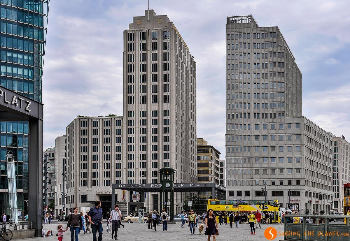 Potsdamer Platz, Berlín, Alemania | Qué hacer en Berlín en 4 días
