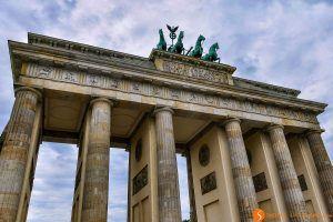 Puerta Brandeburgo, Berlín, Alemania