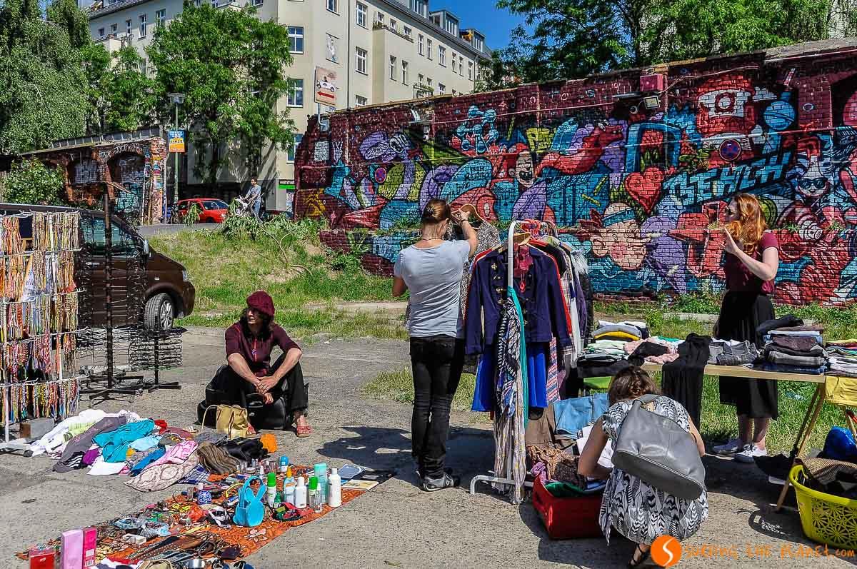 Mercadillo de Raw Flohmarkt, Berlín, Alemania | Qué hacer en Berlín