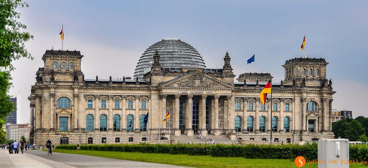 Reichstag Parlamento, Berlín, Alemania
