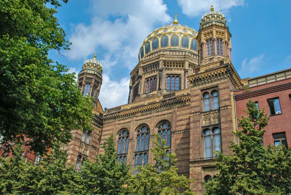 Nueva Sinagoga, Barrio Judío, Berlín, Alemania | 40 cosas que hacer en Berlín en 4 días