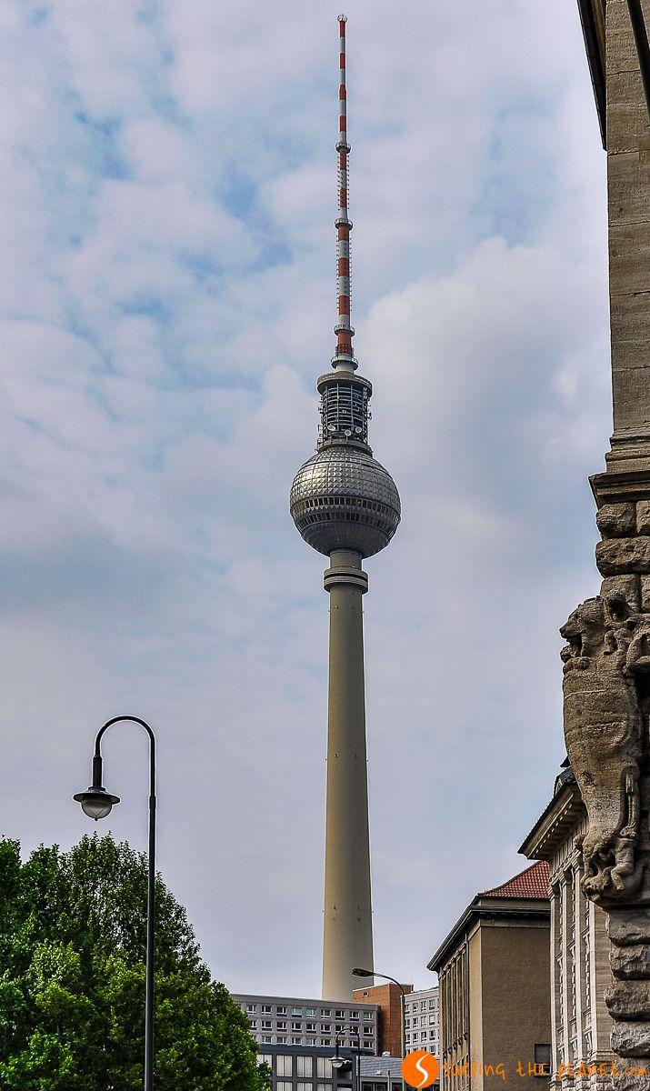 Torre de Televisión, Aleksanderplatz, Berlín, Alemania