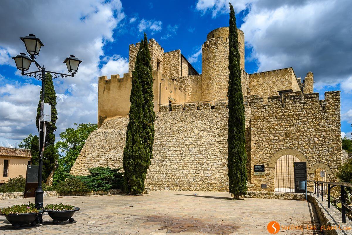 Castillo de Castellet, El Penedès, Cataluña, España