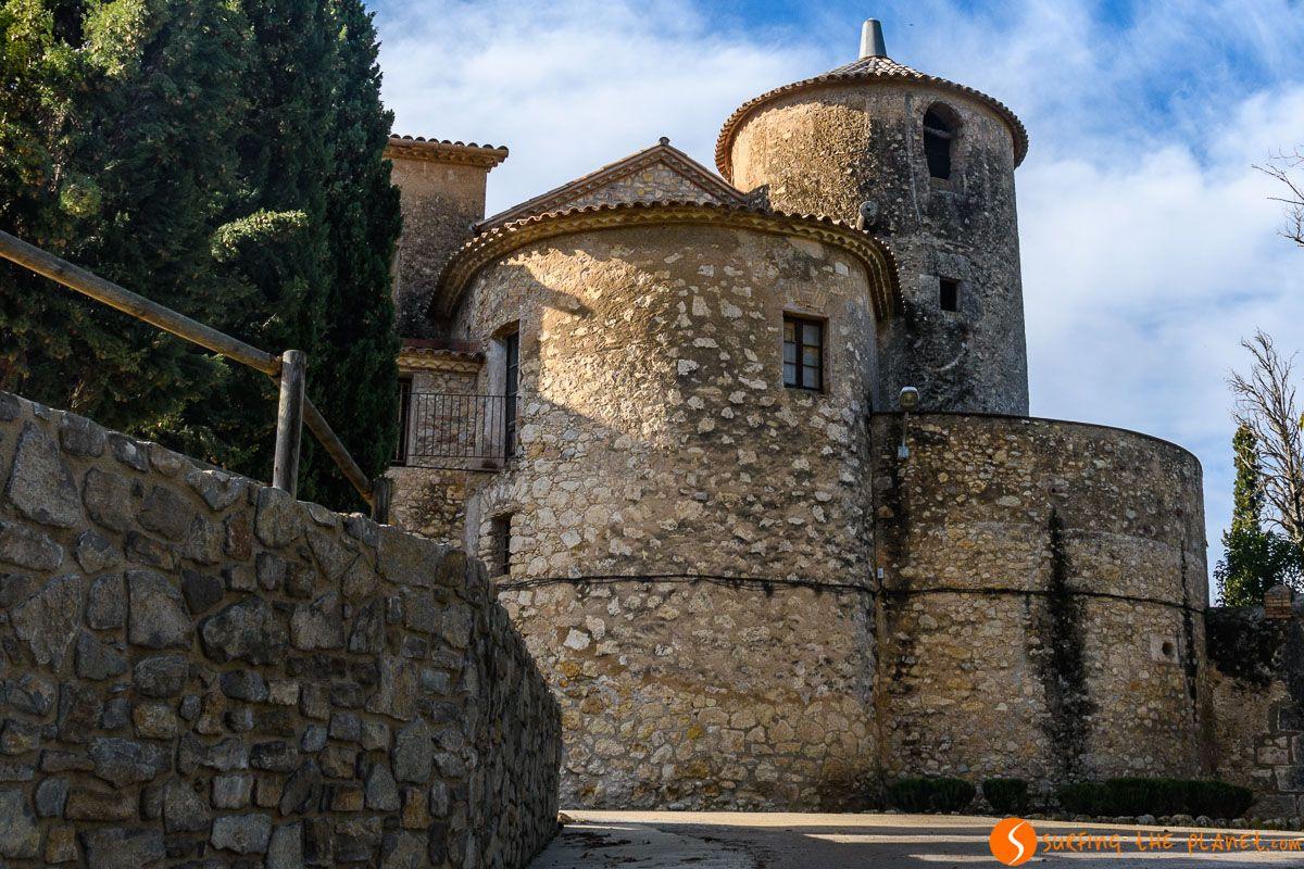 Castillo de Penyafort, El Penedès, Cataluña, España