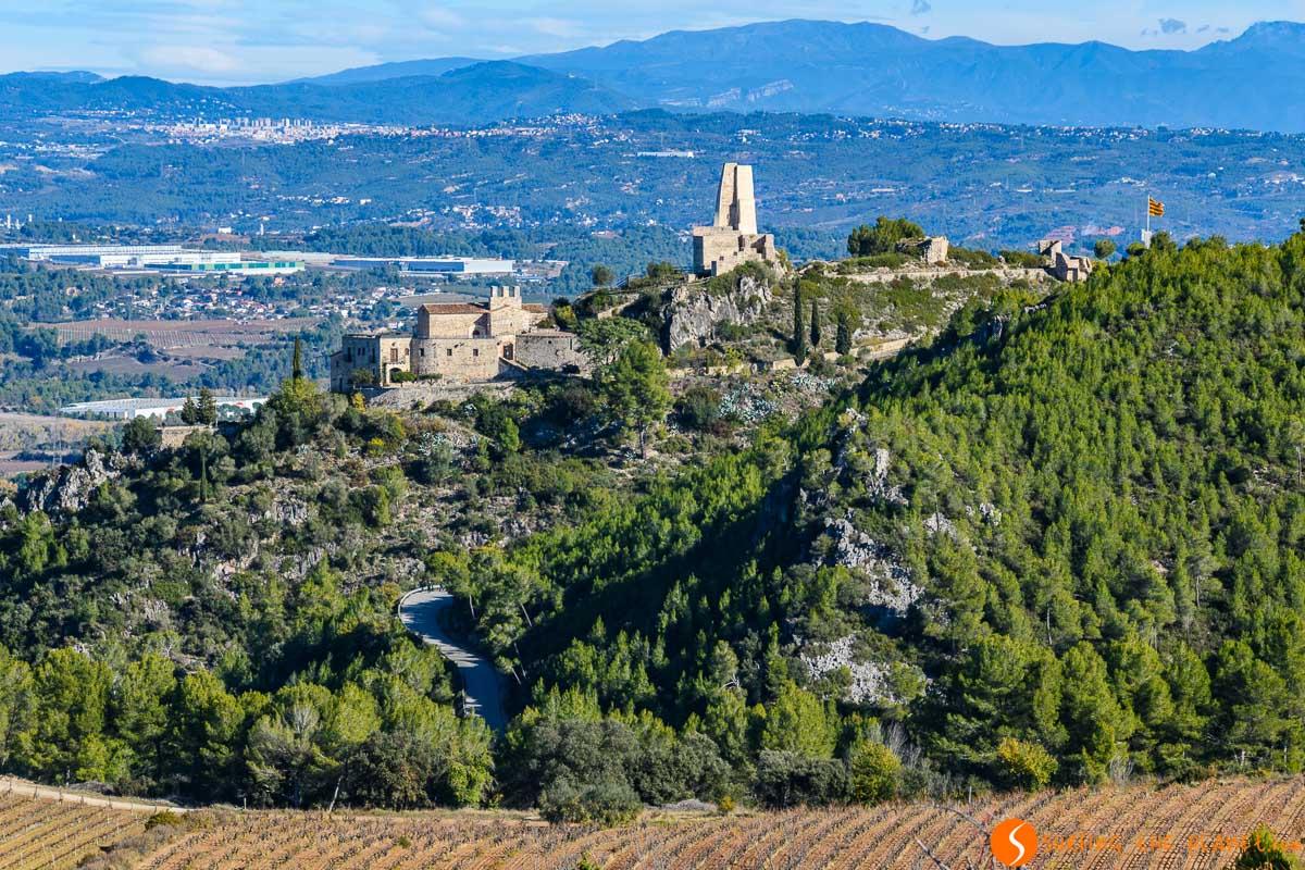 Castillo de Subirats, El Penedès, Cataluña, España | Qué ver y hacer en el Penedès