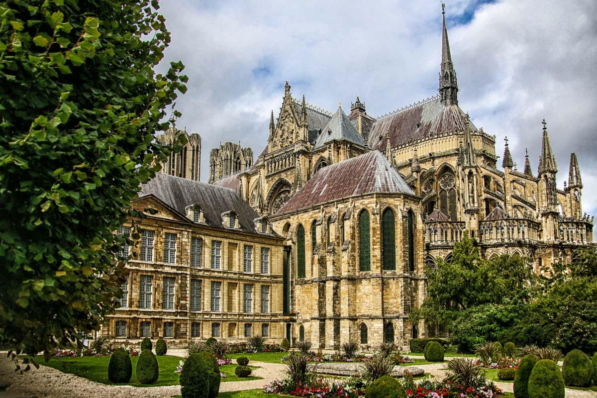 Catedral de Reims, La Champagne, Francia