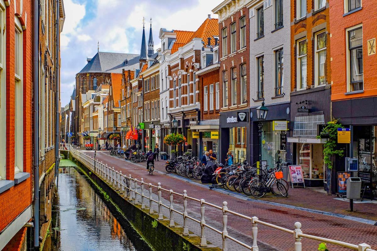 Centro histórico, Delft, Holanda