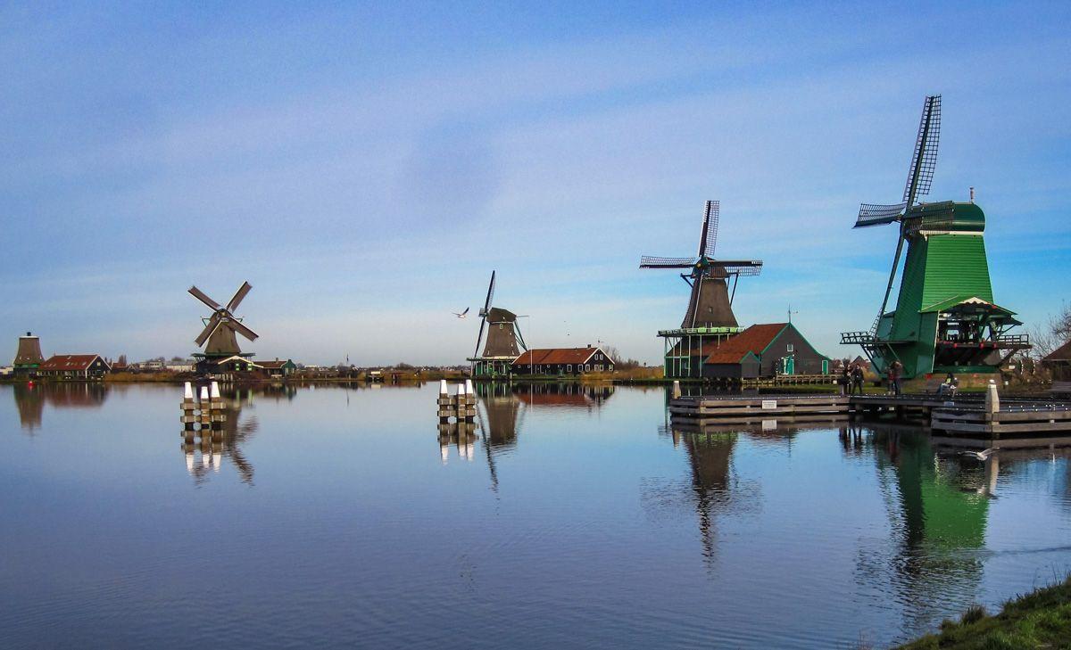 Molinos, Zaanse Schans, Holanda