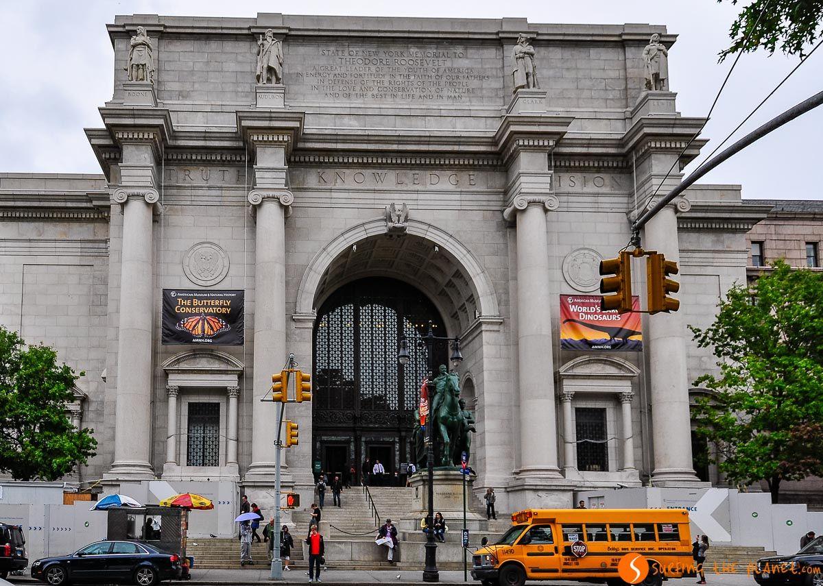 Entrada de Museo de Historia Natural, Nueva York, Estados Unidos
