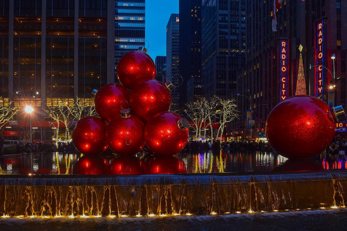 Navidad en Nueva York, Estados Unidos