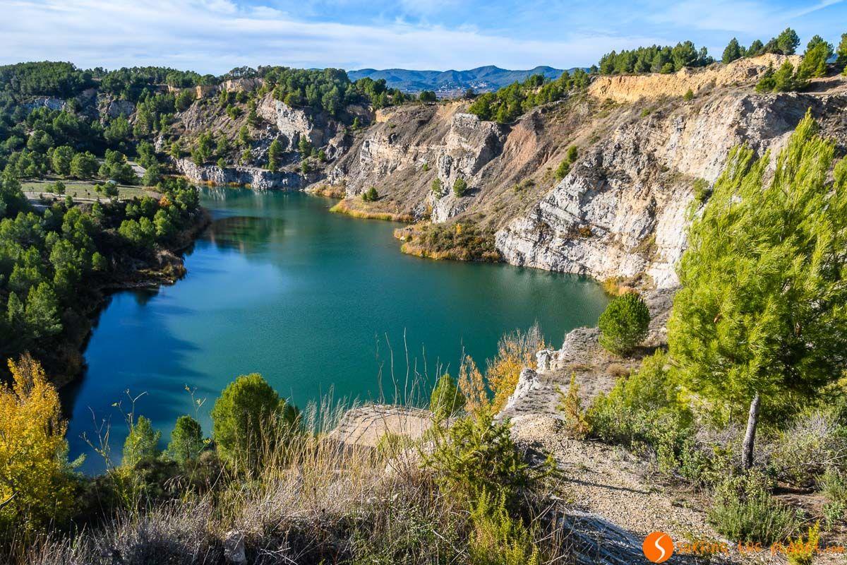 Vistas del Parc dels Talls, El Penedès, Cataluña, España