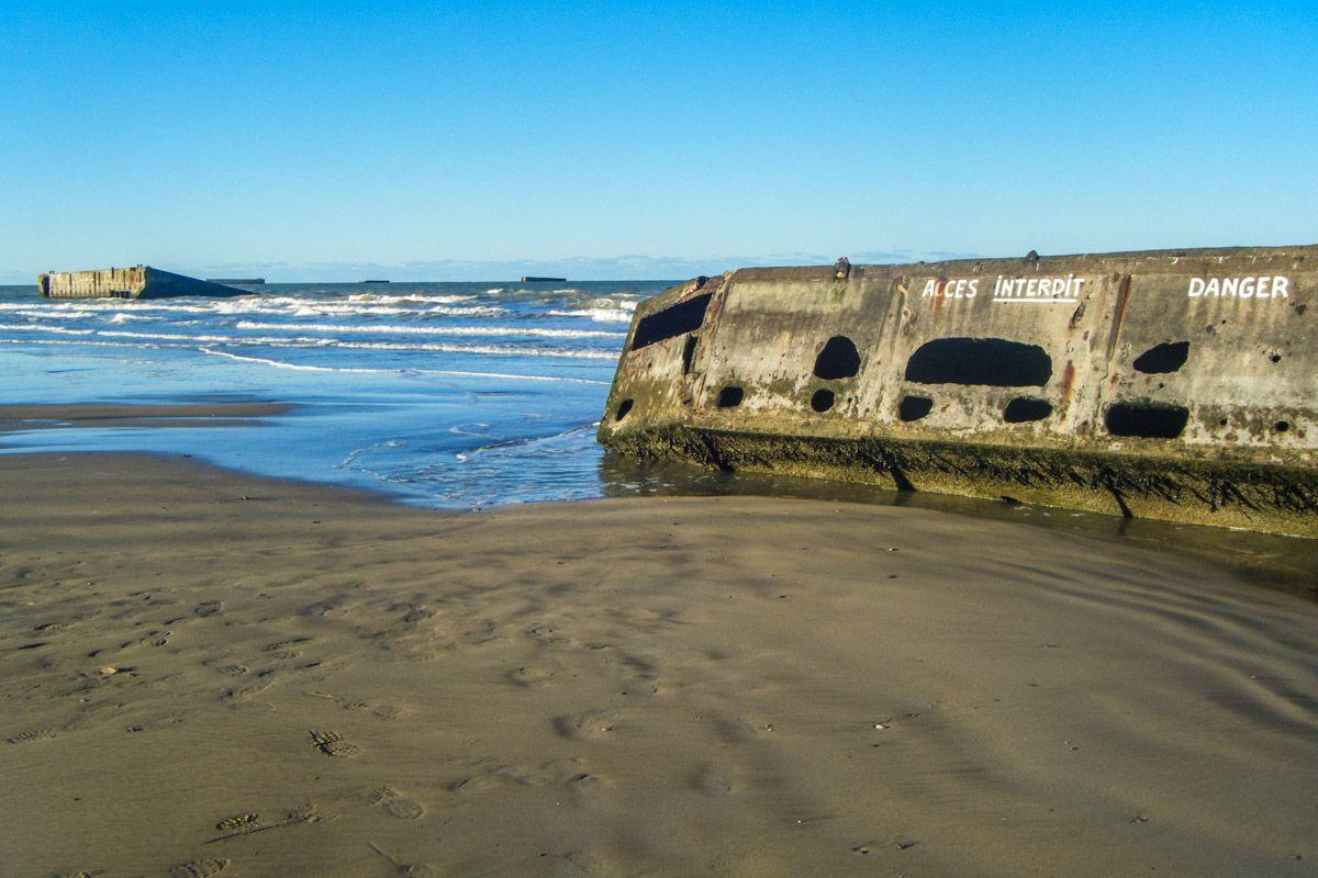 Playa Omaha, Playas del Desembarco, Normandía, Francia | 10 excursiones que puedes hacer cerca de París