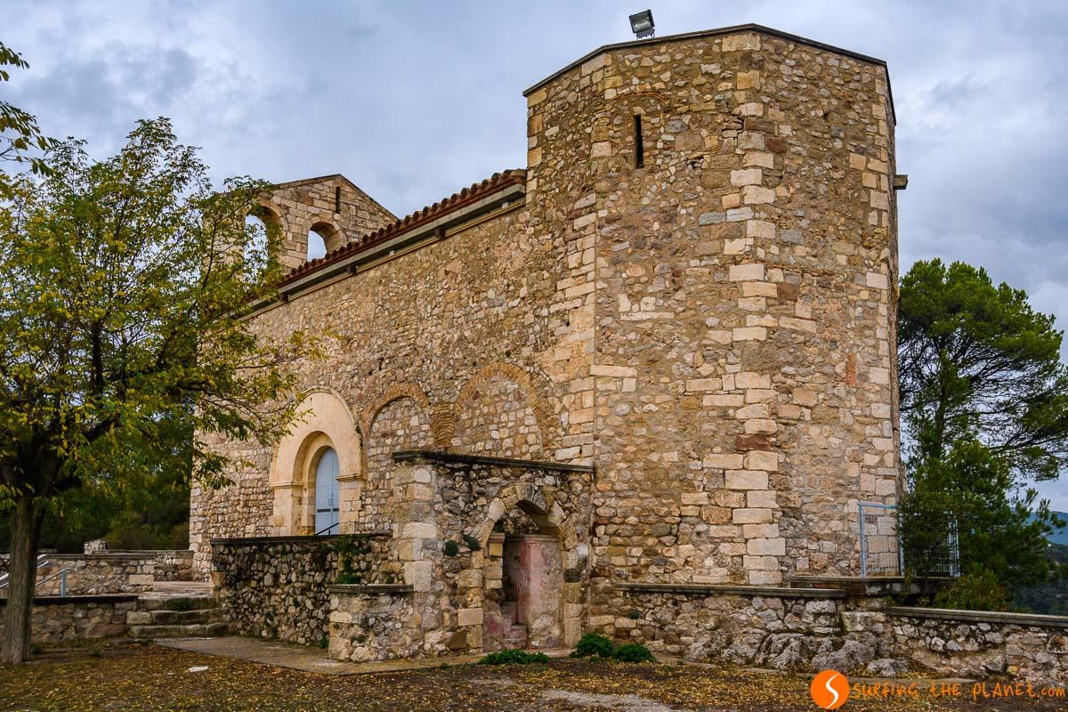 Santuario de Santa Maria del Foix, El Penedès, Cataluña, España