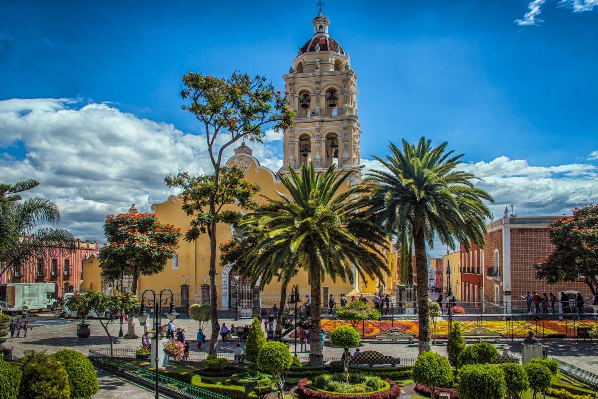 Iglesia, Puebla, México |Los mejores tours gratuitos de América Central