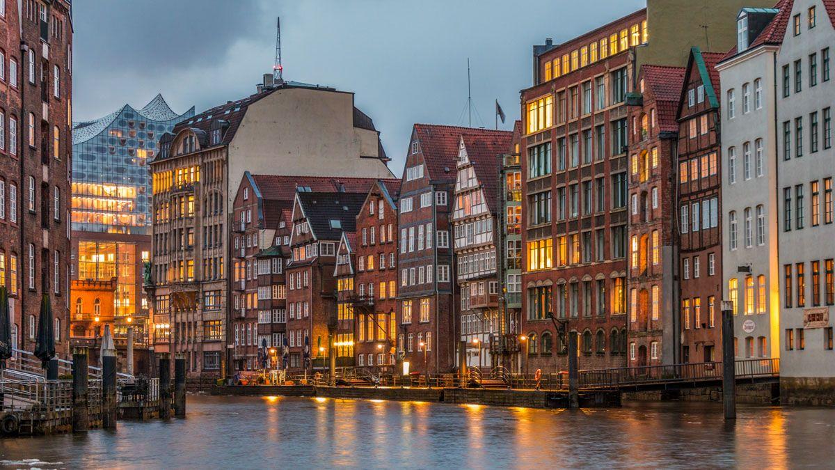 Casas históricas, Hamburgo, Alemania