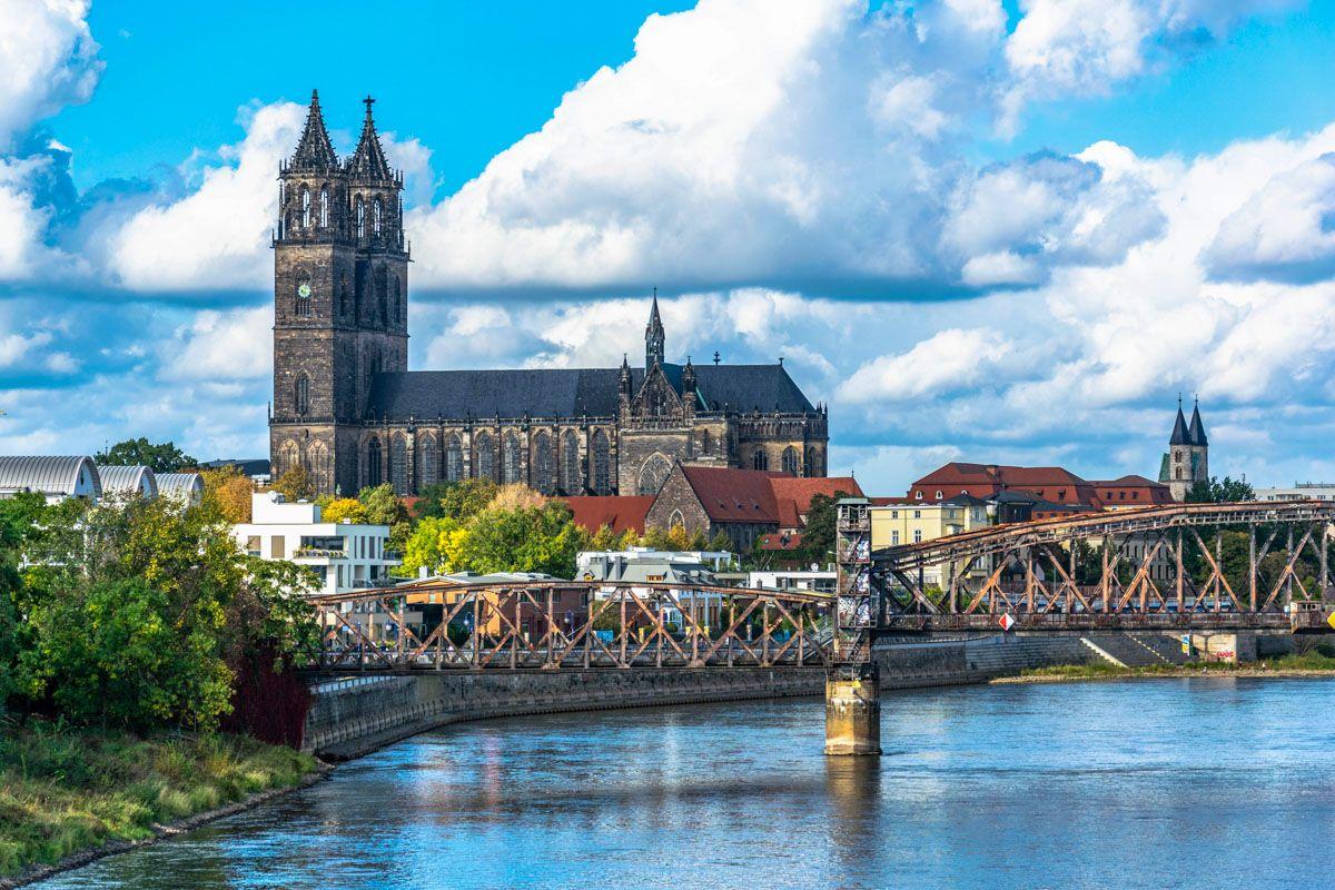 Casco antiguo, Magdeburgo, Alemania