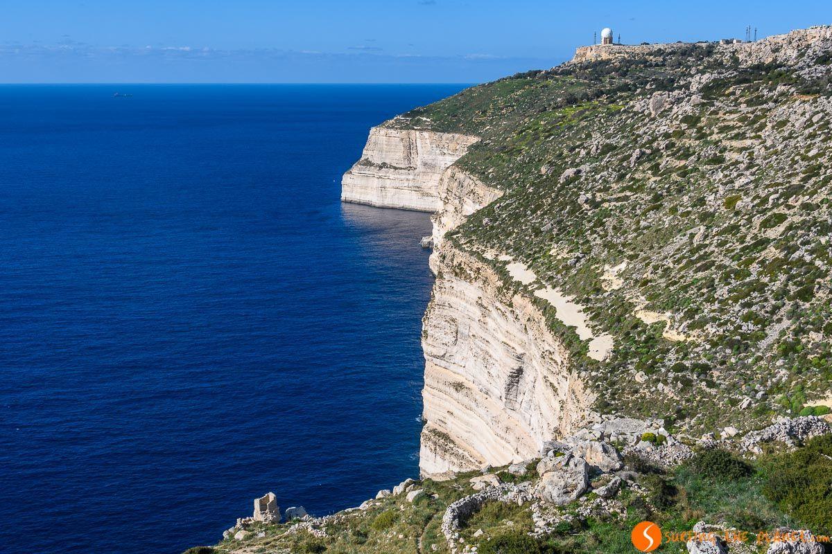 Acantilados de Dingli Cliffs, Malta   Los imprescindibles de Malta en 3 días