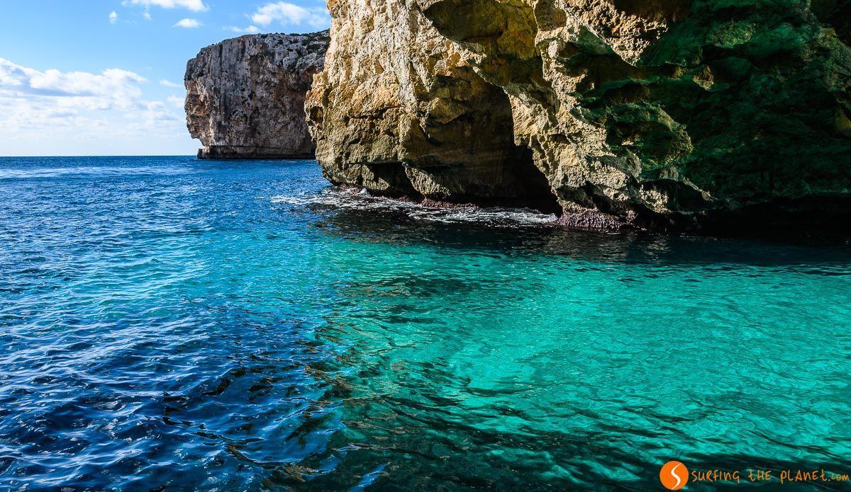 Colores del agua, Blue Grotto, Malta   Lo mejor de Malta en 3 días