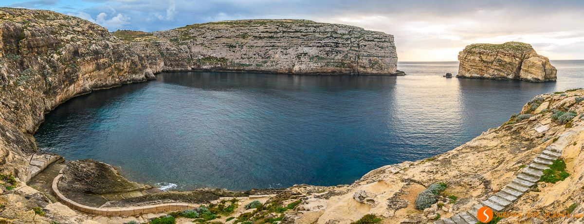 Bahía Dwejra, Gozo, Malta   Qué ver en Gozo en un día
