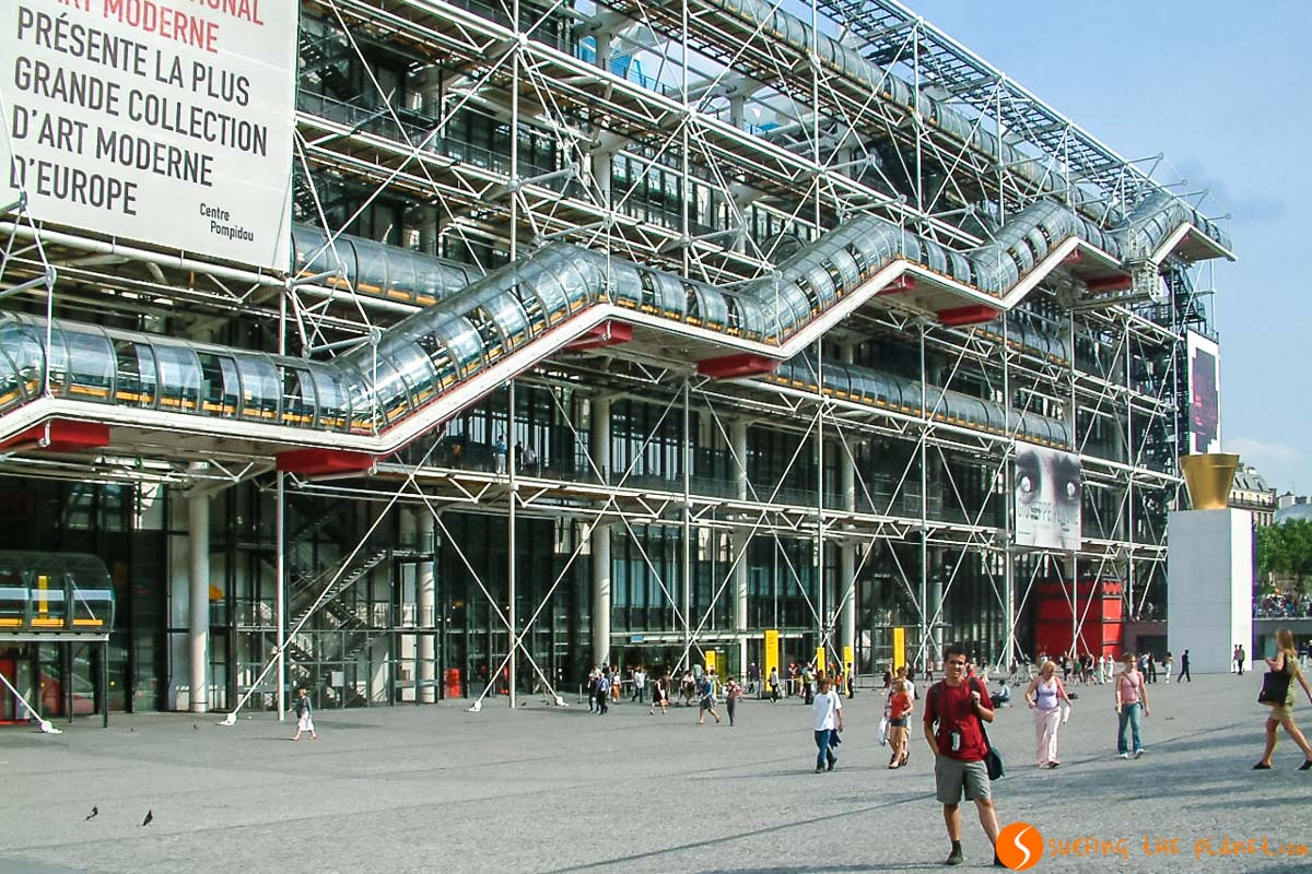 Centro Georges Pompidou, París, Francia | Los mejores museos de París
