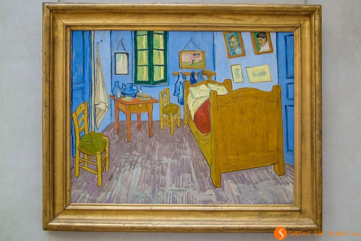 Cuadro de Van Gogh, Museo de Orsay, París, Francia
