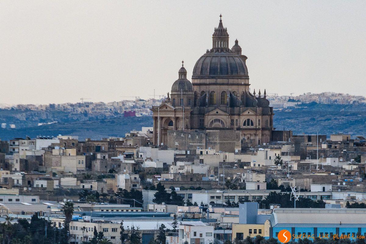Iglesia Rotunda, Xewkija, Malta