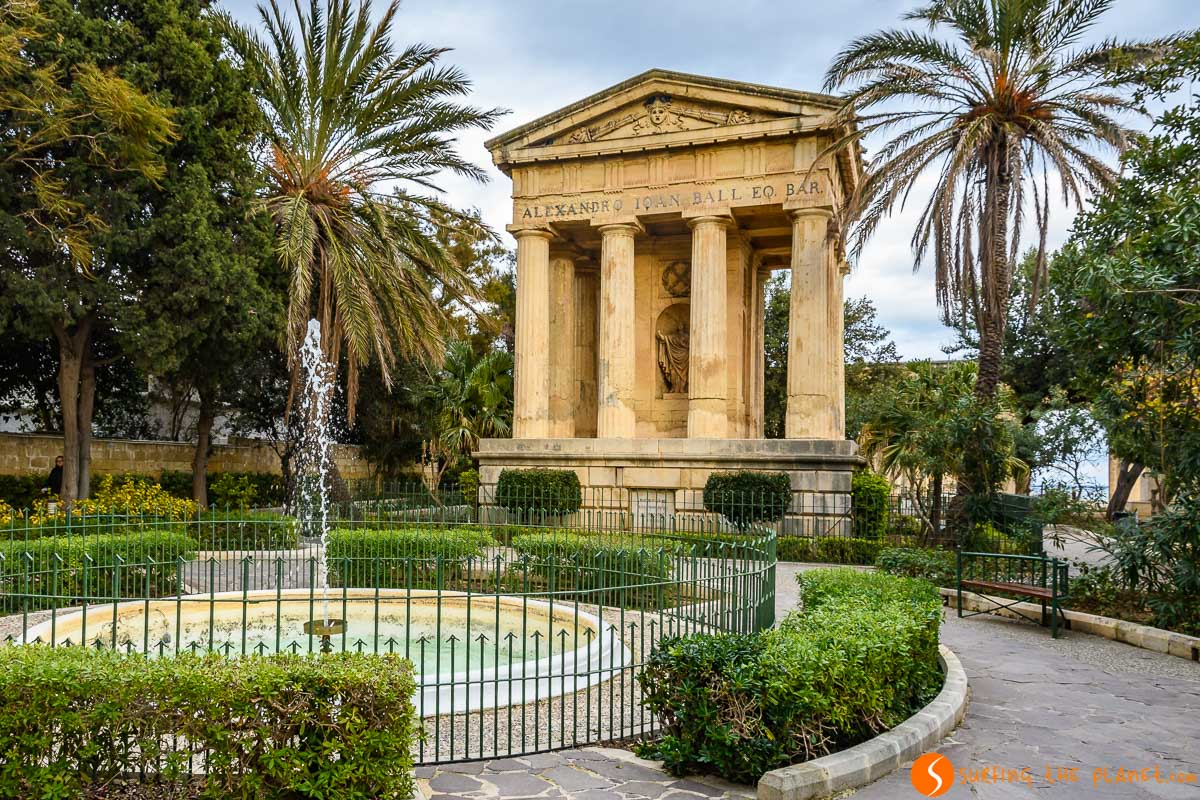 Lower Barrakka Gardens, La Valeta, Malta