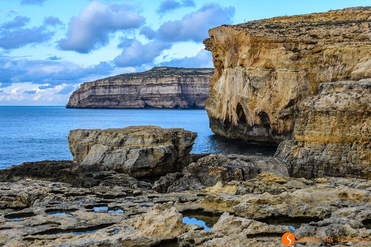 Ruinas de la Ventana Azul, Gozo, Malta   Qué ver y hacer en Gozo
