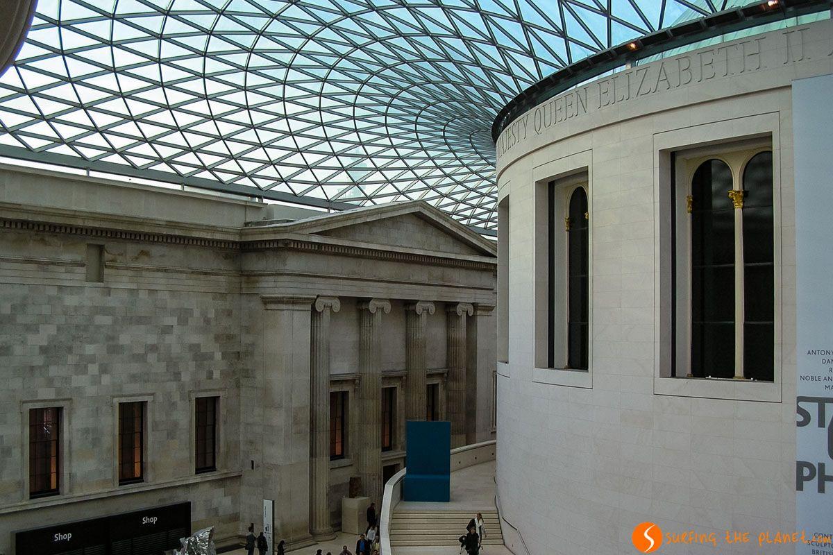Sala, Museo Británico, Londres, Inglaterra