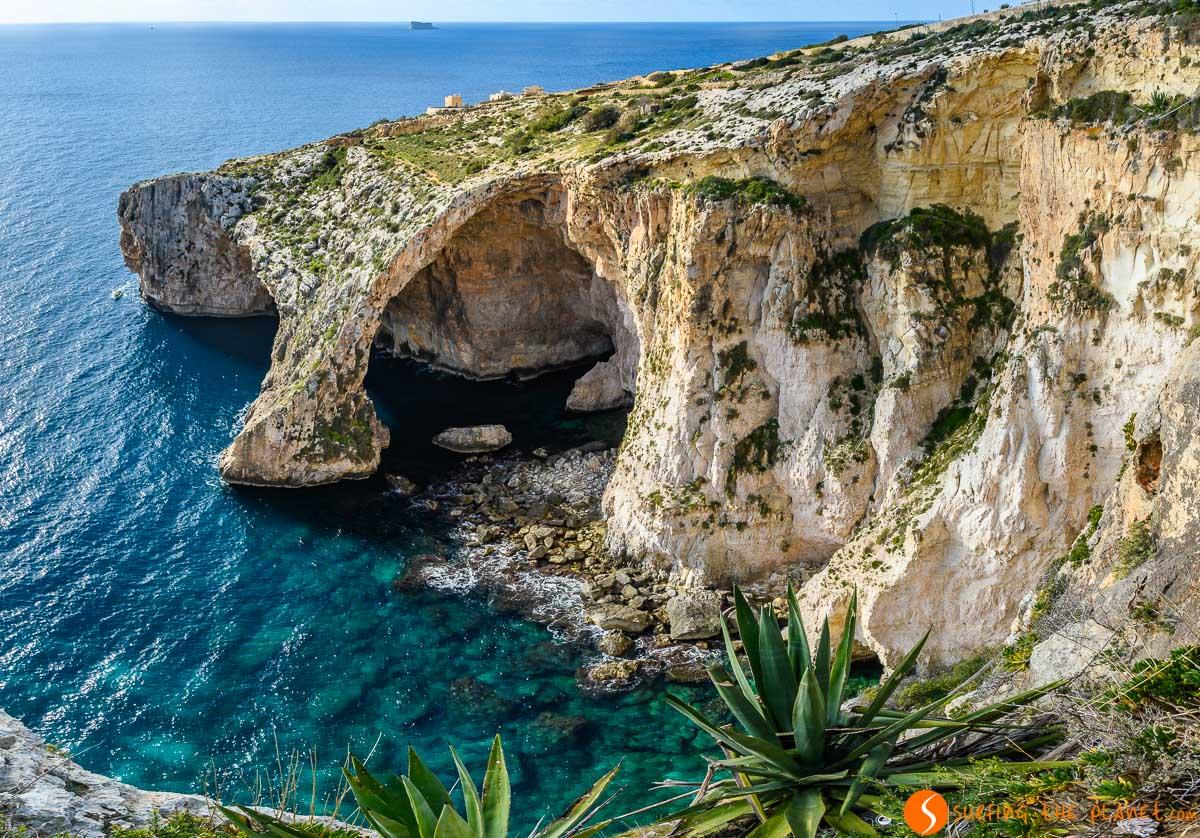 Panorama, Blue Grotto, Malta